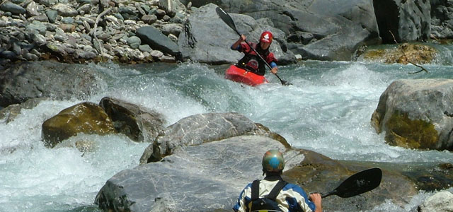 BCU Advanced Water Endorsement White Water kayak Training picture