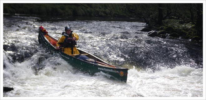 BCU 4 Star Canoe White Water Leader Training picture