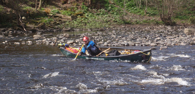 BCU 4 Star Canoe White Water Leader Assessment picture