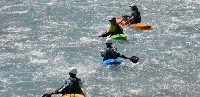 BCU 4 Star Kayak White Water Leader Training picture