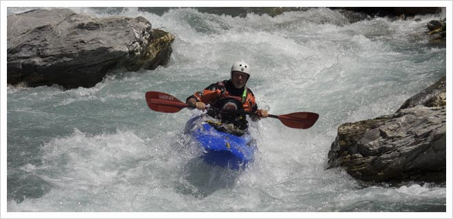 BCU 5 Star Kayak White Water Leader Training picture