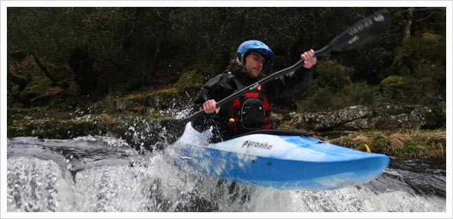 BCU Moderate Water Endorsement White Water kayak Assessment picture