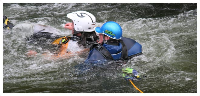 BCU White Water safety and rescue (WWSR) picture