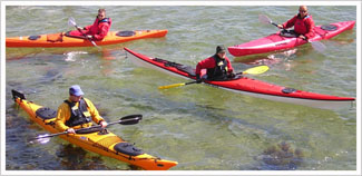 BC 3 star sea kayak picture