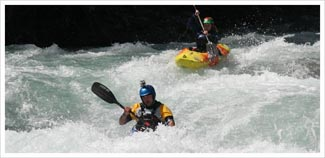 BC white water kayak leader training picture