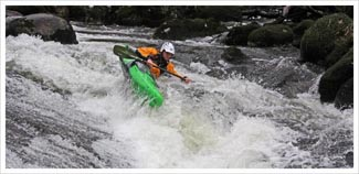 BC advanced white water kayak leader assessment picture
