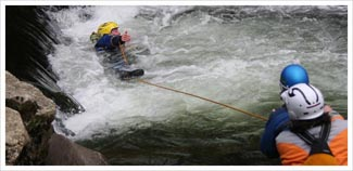 BC advanced white water safety and rescue picture