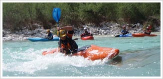 BC White Water Kayak Coach training picture