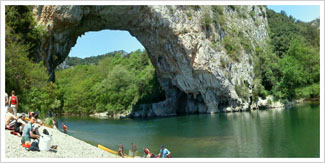 Ardeche first strokes picture
