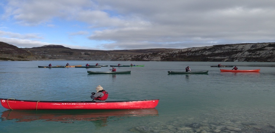 BC Advanced Open Water Canoe Coach Assessment picture