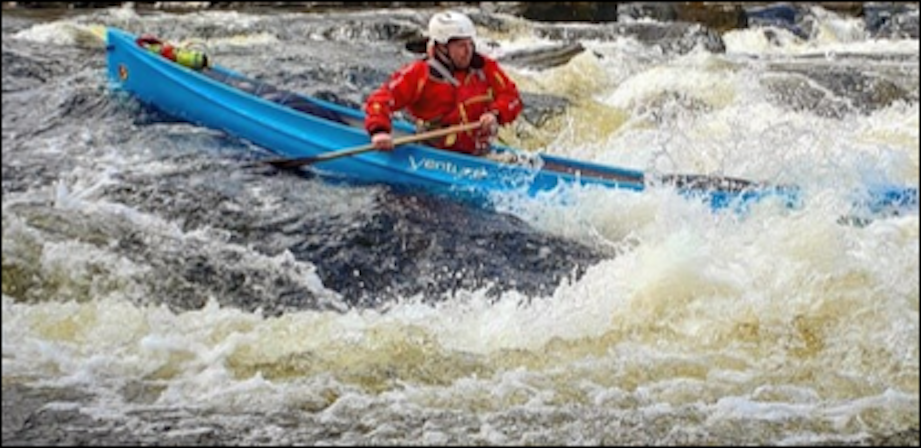 BC Advanced White Water Canoe Coach Training  picture