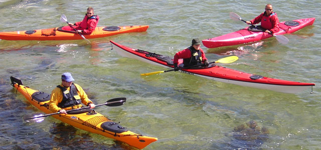 BCU 3 Star Sea Kayak Award picture