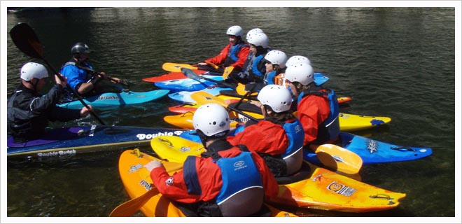 UKCC / BCU Level 2 Paddle sport Coach Assessment picture