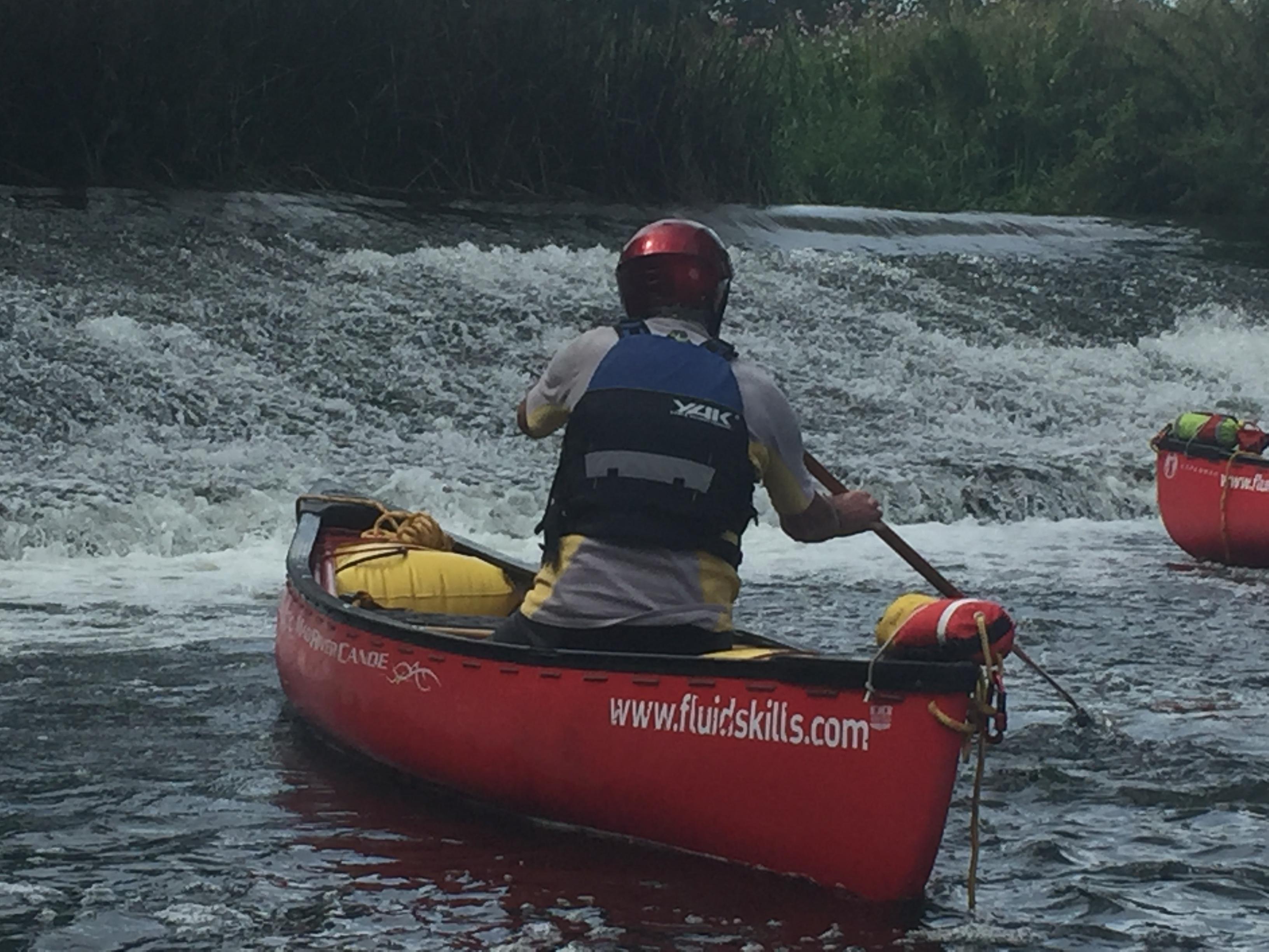 open canoe skills touring family canoeing